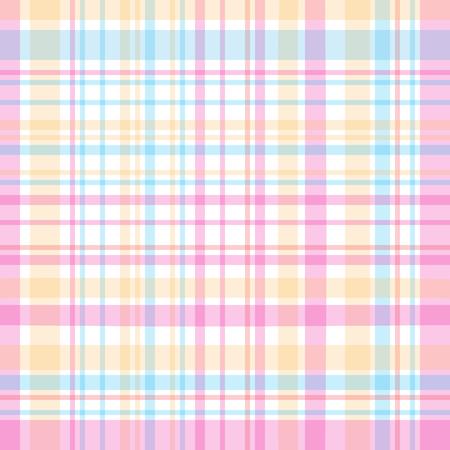 Tartan traditional checkered british fabric pattern