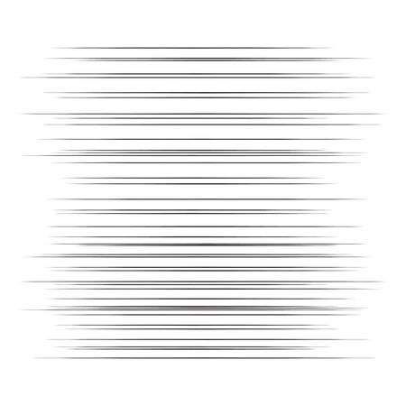 Comic horizontal speed lines background