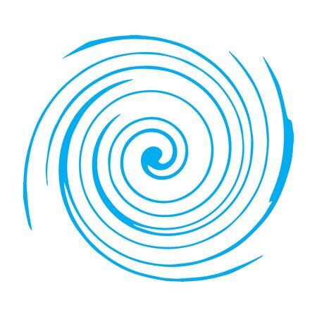 circle stripes waves abstract