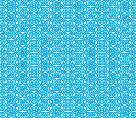 seamless line patterns. blue color geometric backgrounds