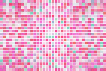 colorful abstract square mosaic texture background 일러스트