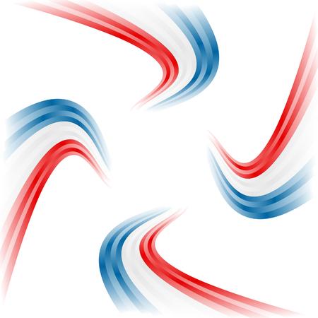 frances: Resumen ondeando la bandera estadounidense, Inglés y Francés