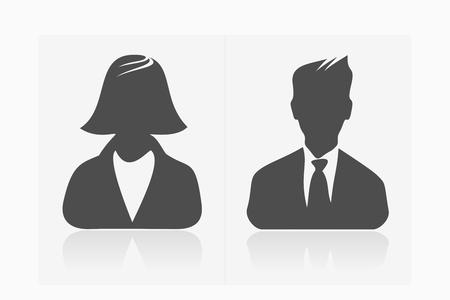기본 아바타 프로필 사진 모음 남성과 여성