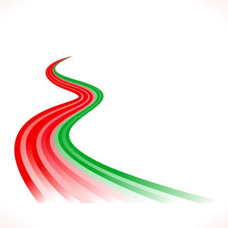 to pulsate: Abstract waving Portuguese, Bangladeshi and Moroccan flag