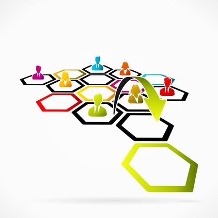 Career ladder as a metaphor for top job promotion