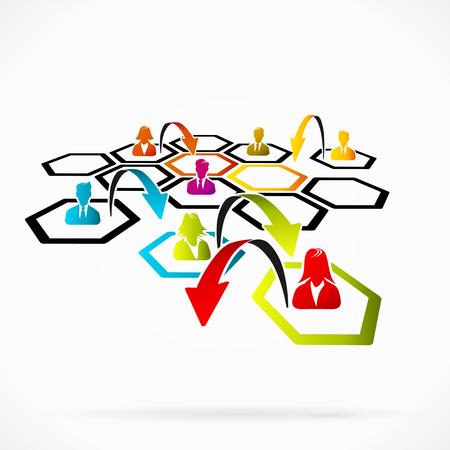 apalancamiento: La reestructuraci�n de la empresa para hacer frente mejor a la realidad actual Vectores