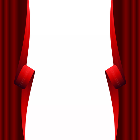 Abstract curtain  Vector