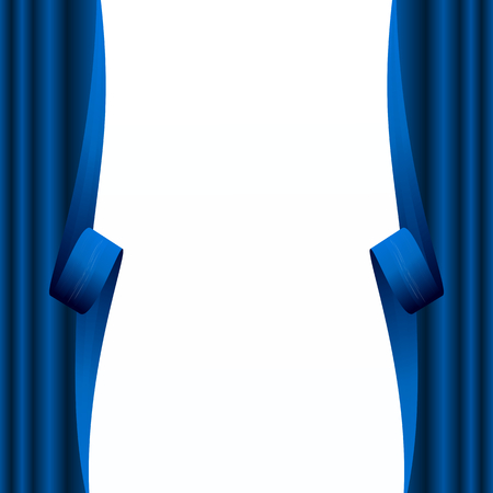 humped: Abstract curtain