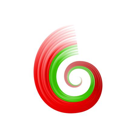 humped: Abstract swirl Portuguese, Bangladeshi and Moroccan flag