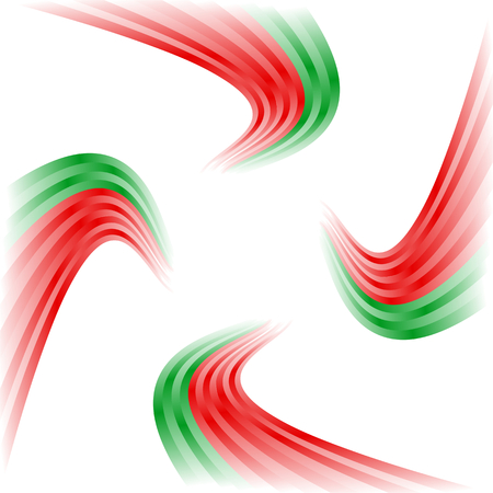 Abstract winding pattern Vector