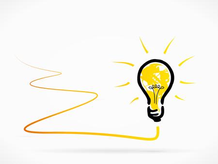Problem solving idea abstract illustration Illustration