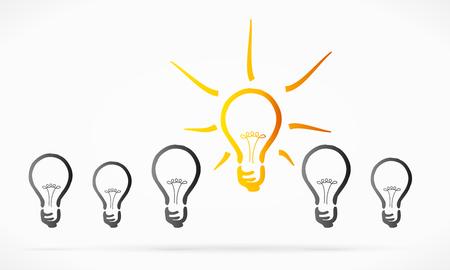 clarify: Valid idea concept abstract illustration