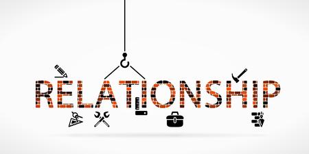 Build relationship construction site