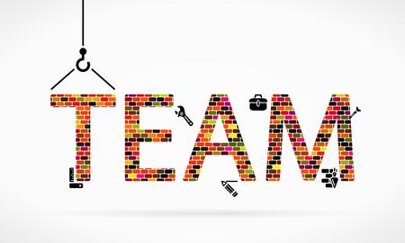 Team-Building-Baustelle