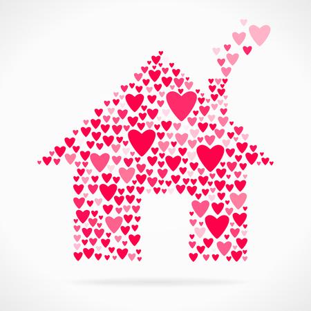 declaration of love: Valentine day love declaration home