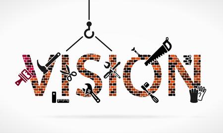 brick work: Vision Illustration