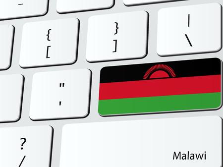 malawian flag: Malawian flag
