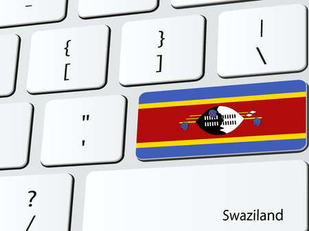 Swazi flag Vector