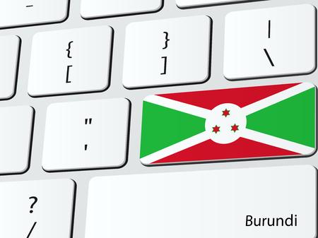 burundi: Burundian flag