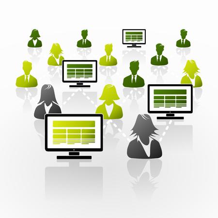 office desktop: Access internet from office desktop computer