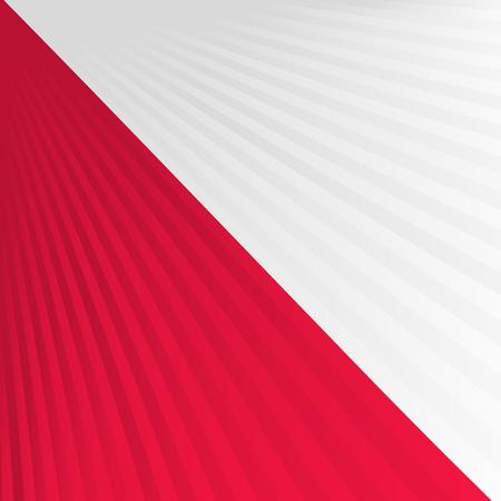 singaporean flag: Abstract waving white red flag