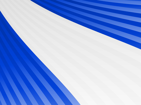 Abstract blue white blue stripes flag Vector