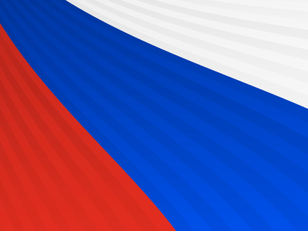 czech flag: Abstract red blue white stripes flag