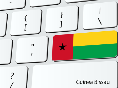 Bissau Guinean flag computer icon keyboard Vector