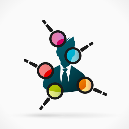 Employee evaluation Vectores