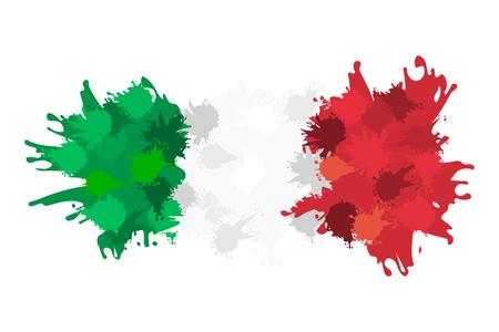 Bandiera italiana Archivio Fotografico - 29288525
