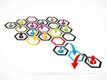 restructuring: Restructuring concept illustration