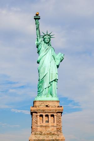 Liberty Statue in NYC Zdjęcie Seryjne