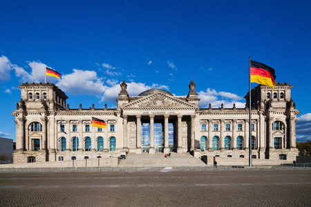 governement: German Reichstag in Berlin, Germany