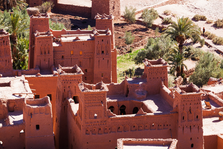 world village: picturesque old mountain village of Ait-Ben-Haddou All which is listed under the UNESCO world heritage sites