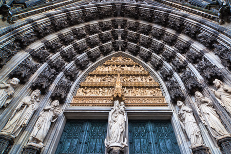 cologne: portal of the Cologne Cathedral in Cologne, Germany