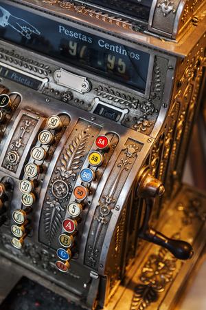 merchandize: antique cash register