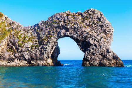 jurassic coast: Durdle Door at the Jurassic Coast in Dorset, England