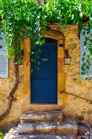 old house in the old town of Saint Tropez, Cote dAzur, France