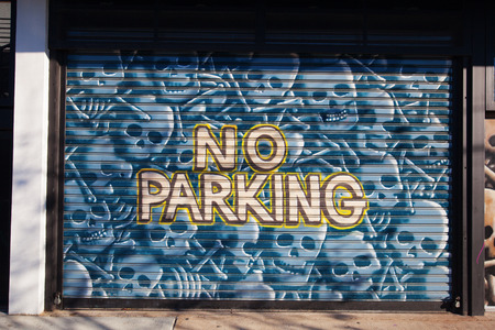 New York City, USA - October 10, 2015: mural art in Bushwick, Brooklyn. Bushwick is one of NYC's major street art hubs, with at outdoor art gallery known as the Bushwick Collective Reklamní fotografie - 62871867