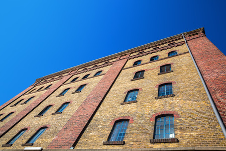 picture of an old warehouse building in Muenster, Germany