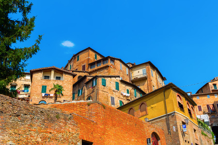 picture of old buildings in Siena, Tuscany, Italy