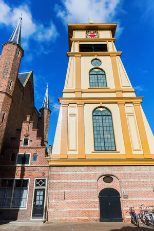 picture of an old church in Enkhuizen, Netherlands Stock Photo