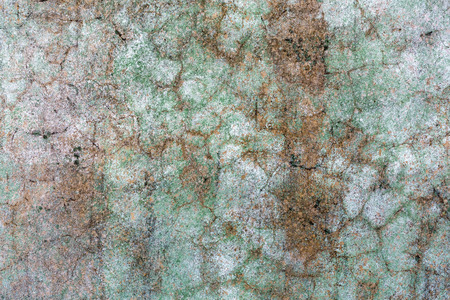 fissure: background texture from old plaster of a house wall in Italy