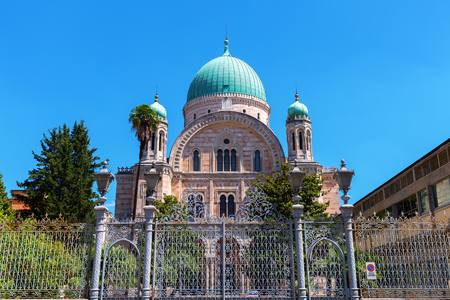 picture of the Great Synagogue in Florence, Italy