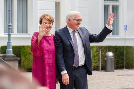 Bonn, Germany - June 24, 2018: The Federal President of Germany, Frank Walter Steinmeier, at the Villa Hammerschmidt.