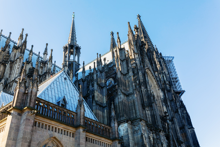 picture of a Cologne Cathedral in Cologne, Germany Zdjęcie Seryjne