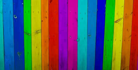 Colorful wood planks background  Stock Photo
