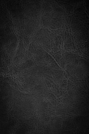 Zwart leder achtergrond of textuur Stockfoto