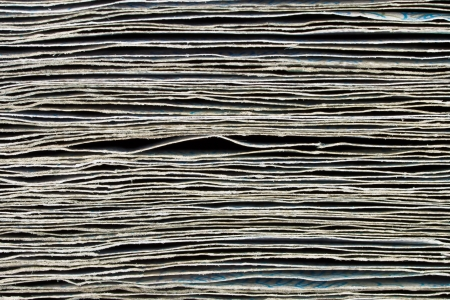 onehundred: Stack of banknotes close-up background Stock Photo