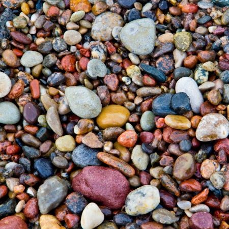 traditional wellness: Sea stones background